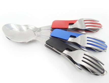 3 in 1 Utility set with detachable option Spoon, Fork and Opener for Outdoor Camping and other multi purpose use